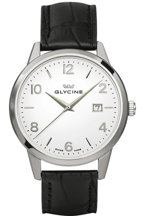 Mens Glycine Classic Watch 3925.11.LBK9