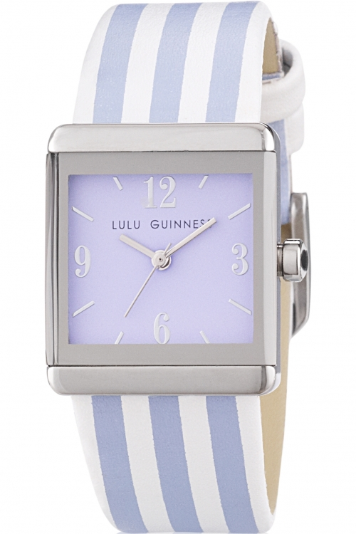 Ladies Lulu Guinness LG Stripe Watch