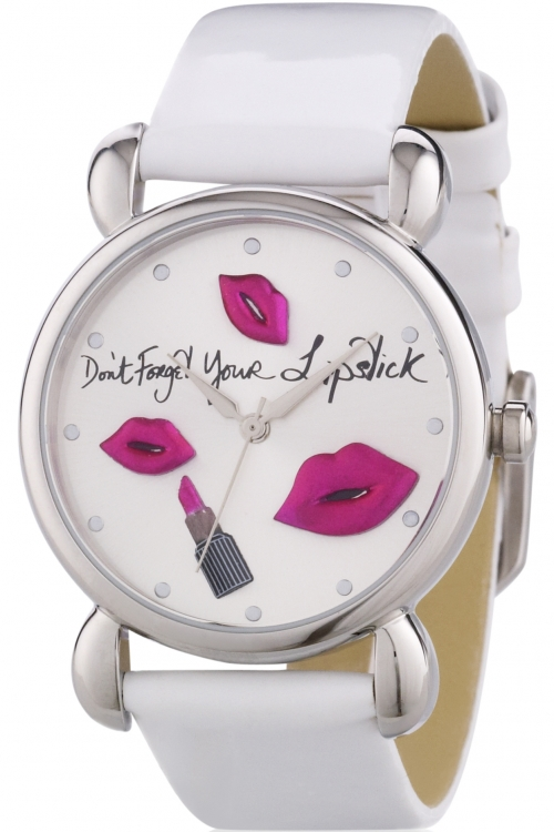 Ladies Lulu Guinness Dont Forget Your Lipstick Watch