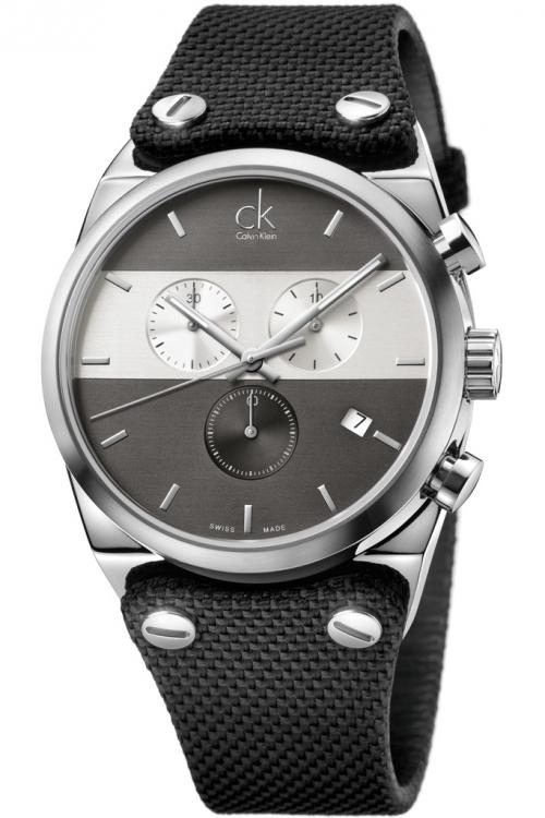 Mens Calvin Klein Eager Chronograph Watch K4B371B3