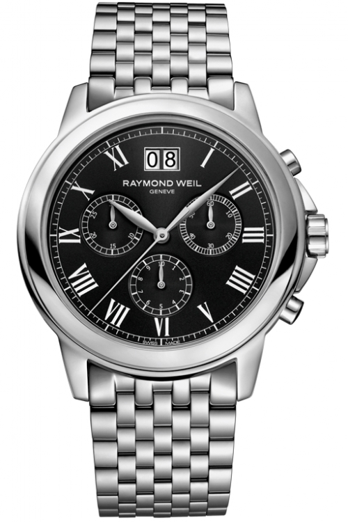 Mens Raymond Weil Tradition Chronograph Watch 4476-ST-00200