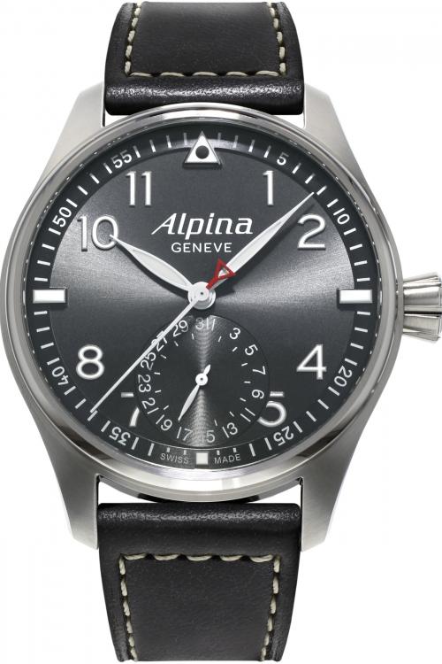 Mens Alpina Startimer Pilot Manufacture Automatic Watch AL-710G4S6