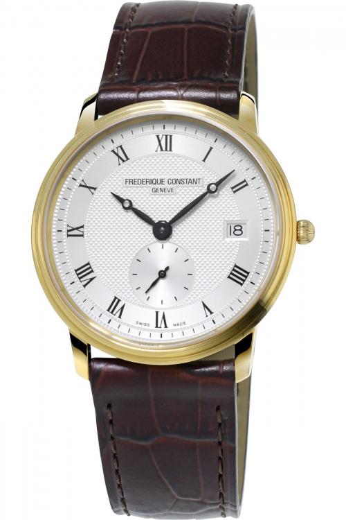 Mens Frederique Constant Slim Line Small Second Watch FC-245M4S5