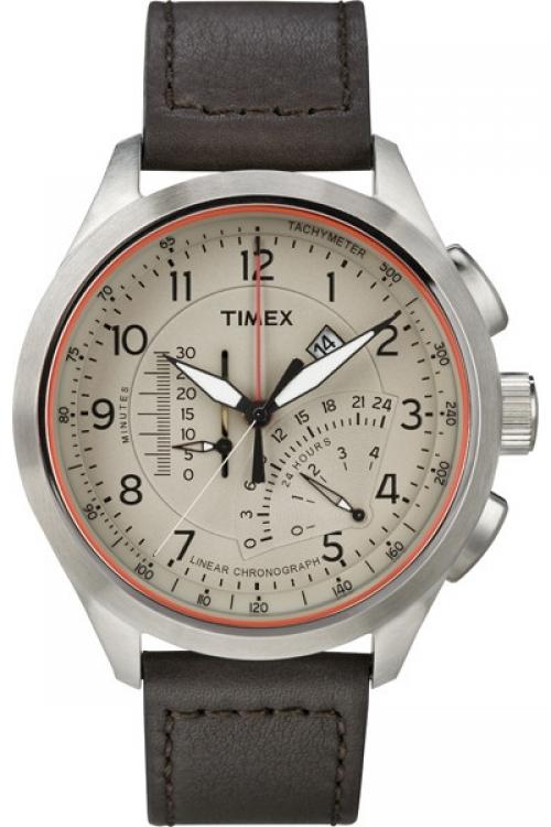 Mens Timex Adventure Series Linear Chronograph Watch T2P275