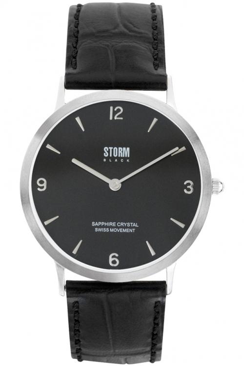 Mens Storm Black Sigma Watch SIGMA-BLACK