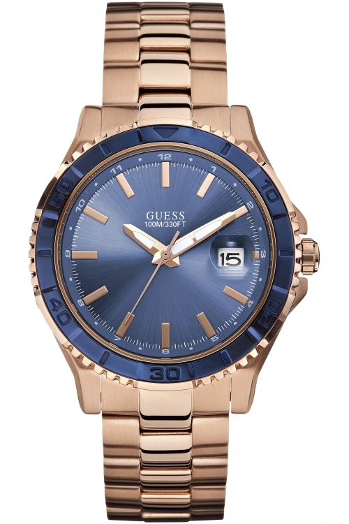 Mens Guess Plugged In Watch W0244G3