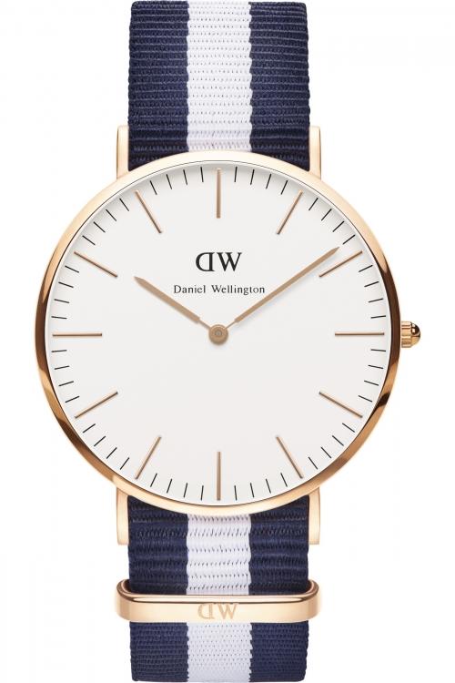 Mens Daniel Wellington Glasgow 40mm Watch 0104DW