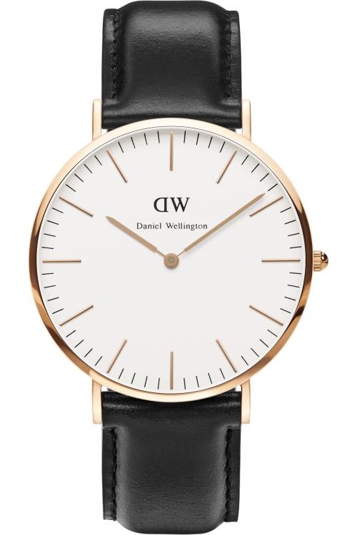 Mens Daniel Wellington Sheffield 40mm Watch 0107DW