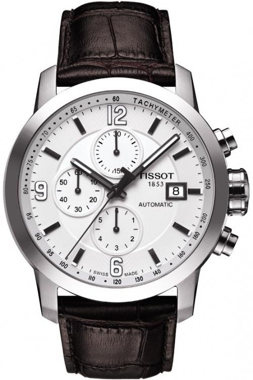 Mens Tissot PRC200 Automatic Chronograph Watch T0554271601700
