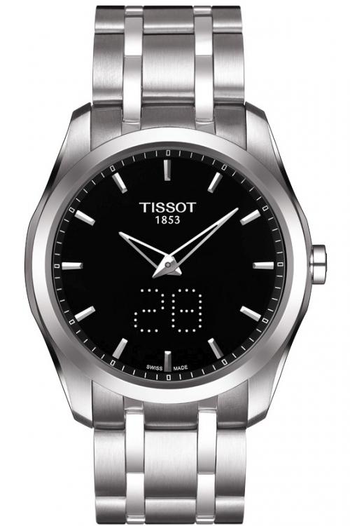 Mens Tissot Couturier Secret Date Watch T0354461105100