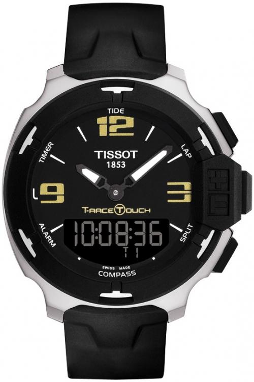 Mens Tissot T-Race Touch Alarm Chronograph Watch T0814201705700