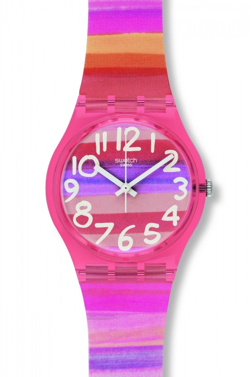 Ladies Swatch Astilbe Watch