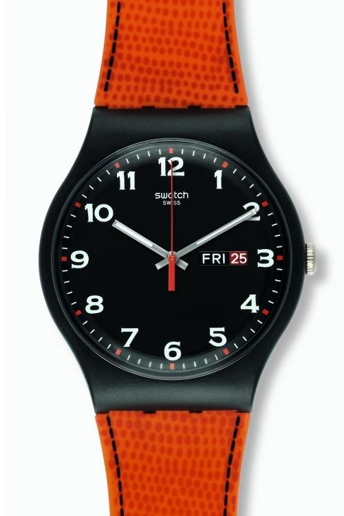Mens Swatch Faux Fox Watch SUOB709