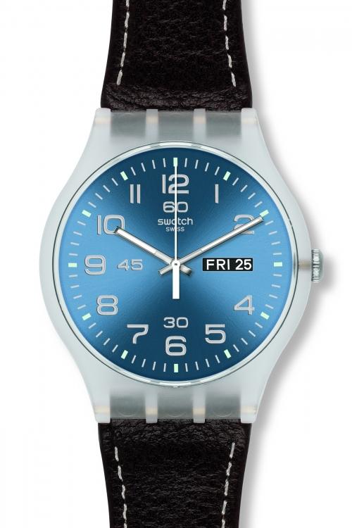 Mens Swatch Daily Friend Watch SUOK701