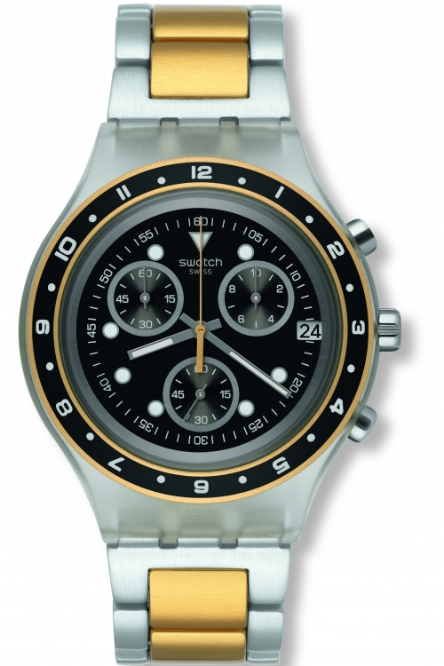 Mens Swatch Antenor Chronograph Watch SVCK4076AG