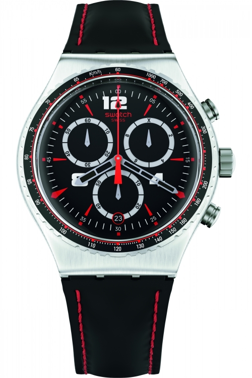 Mens Swatch Pudong Chronograph Watch YVS404