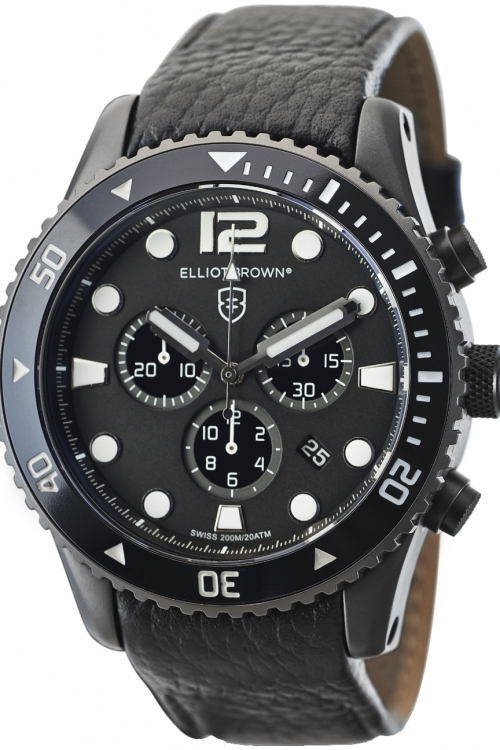 Mens Elliot Brown Bloxworth Chronograph Watch 929-001-L01