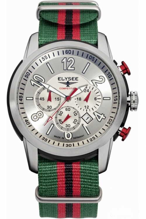 Mens Elysee The Race I Chronograph Watch 80523