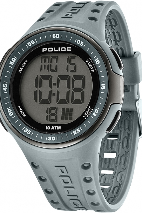 Mens Police Cyberlite Alarm Watch 13904JPGYB/02