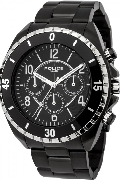 Mens Police Miami MF Chronograph Watch 13918JSBS/02M