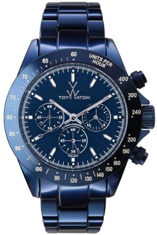 Mens ToyWatch Metallic Chronograph Watch ME13BL