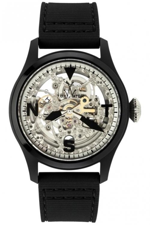 Mens ToyWatch Toy2Fly Skeleton Automatic Watch TTFS13BKSL