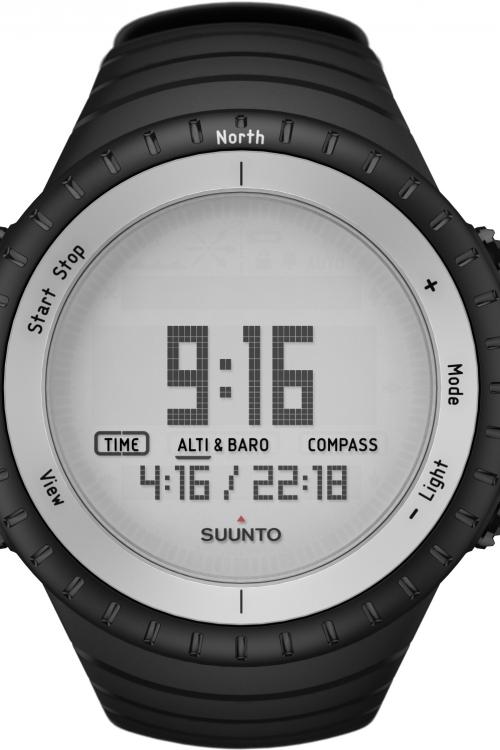 Mens Suunto Core Glacier Gray Alarm Chronograph Watch SS016636000