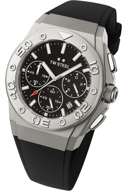 Mens TW Steel CEO Diver 44mm Chronograph 44mm Watch CE5008
