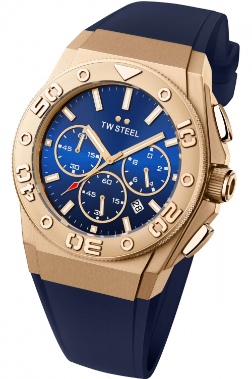 Mens TW Steel CEO Diver 48mm Chronograph 48mm Watch CE5011