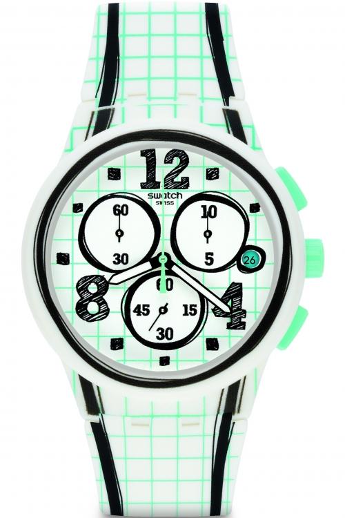 Mens Swatch Just Enjoy Chronograph Watch SUSW403
