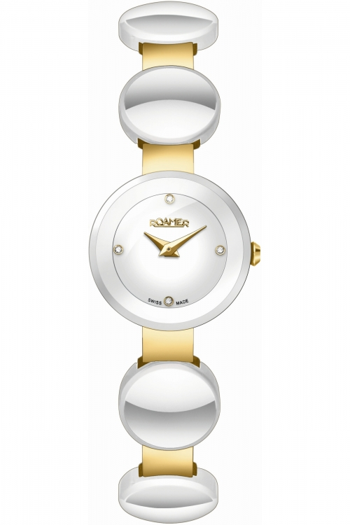 Ladies Roamer Ceraline Round Watch