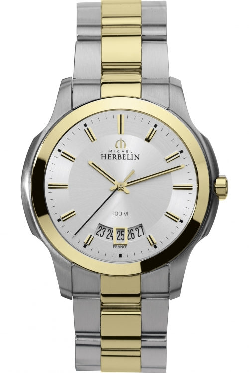 Mens Michel Herbelin Watch 12239/BT11
