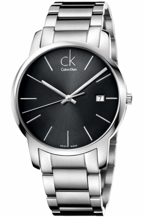 Mens Calvin Klein City Date Watch K2G2G143