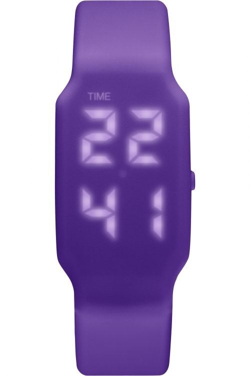 Mens Verb 4GB USB Rechargeable LED Purple Watch VRB-006