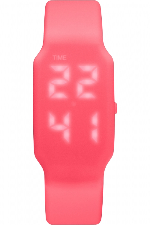 Mens Verb 4GB USB Rechargeable LED Shocking Pink LED Watch VRB-008