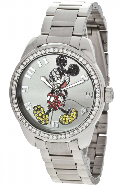 Ladies Disney by Ingersoll Classic Diamante Mickey Watch