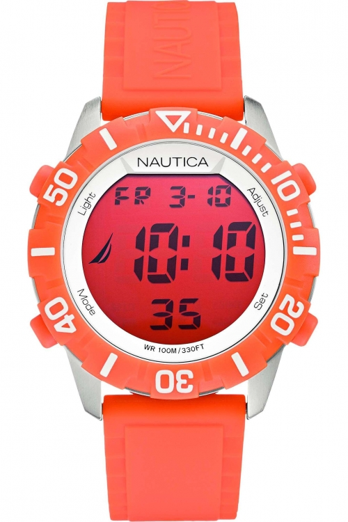 Mens Nautica NSR100 Alarm Chronograph Watch A09927G