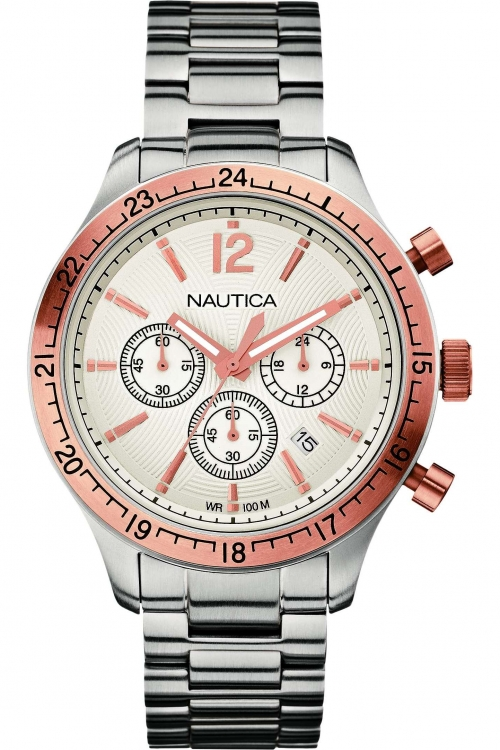 Mens Nautica BFD104 Sport Classic Chronograph Watch A19618G