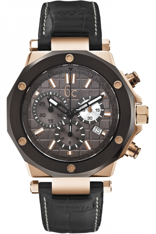 Mens Gc Gc-3 Chronograph Watch X72024G5S
