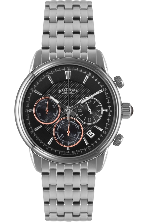 Mens Rotary Monaco Collection Chronograph Watch GB02876/04