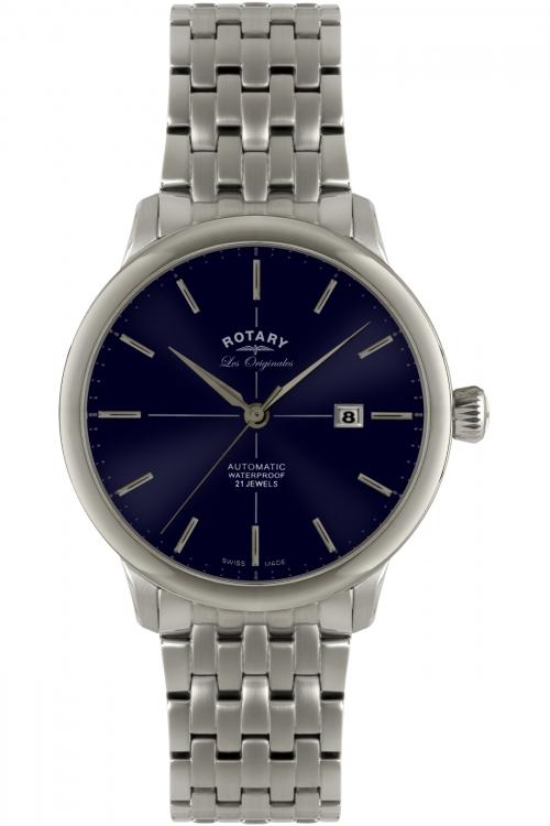 Mens Rotary Les Originales Burlington Collection Automatic Watch GB90060/05