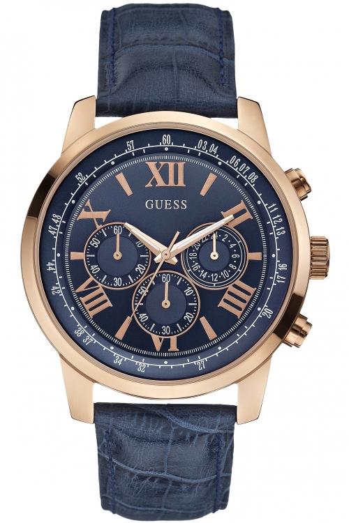 Mens Guess Horizon Chronograph Watch W0380G5