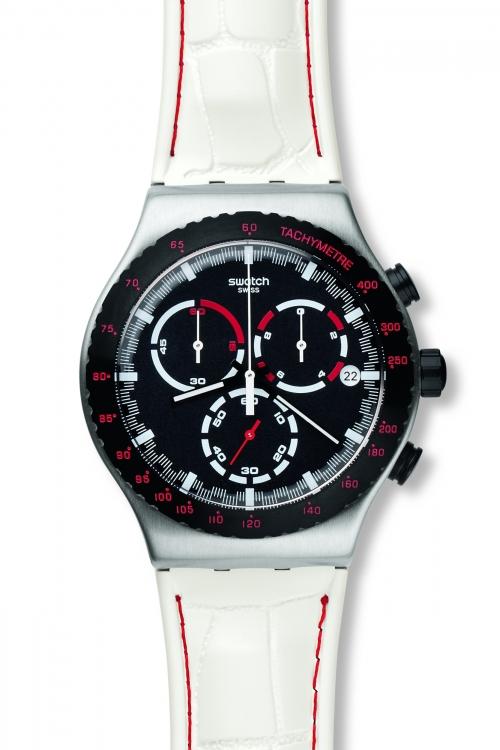 Mens Swatch Daikanyama Chronograph Watch YVS407