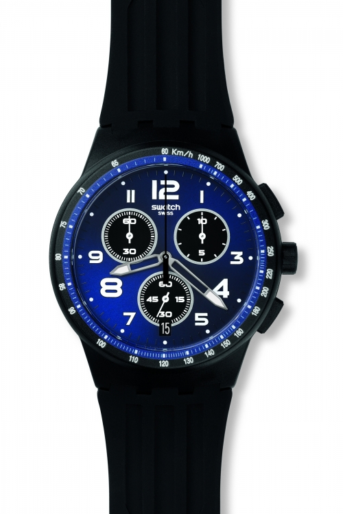 Mens Swatch Nitespeed Chronograph Watch SUSB402