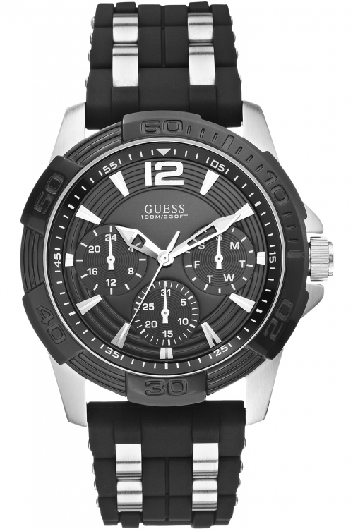 Mens Guess Oasis Watch W0366G1