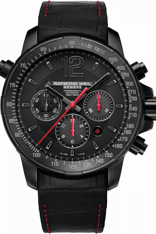 Mens Raymond Weil Nabucco BRIT Awards 2014 Limited Edition Automatic Chronograph Watch 7850-BK-BRT14