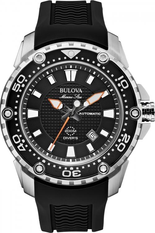 Mens Bulova Marine Star - Satellite Automatic Watch 98B209