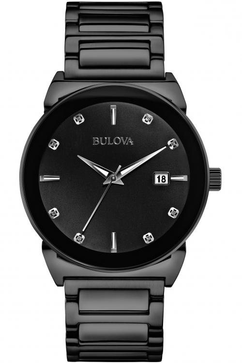 Mens Bulova Gents Diamond Watch 98D121