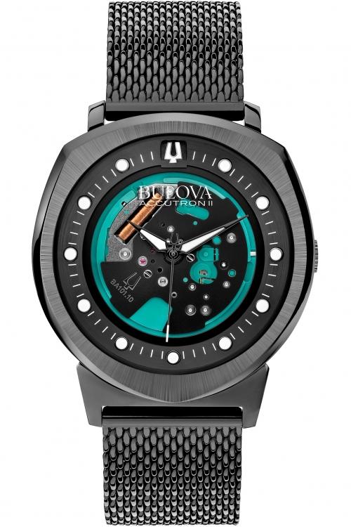 Mens Bulova Accutron II Watch 98A136