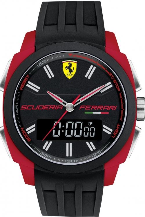 Mens Scuderia Ferrari Aerodinamico Chronograph Watch 830121